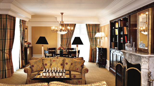 Carlton Suite at Ritz Carlton Hotel in Moscow, Russia