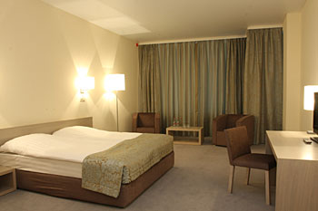 Standard Double Room In Aquarium Hotel Moscow Russia