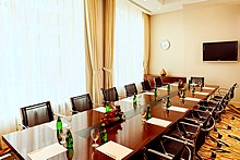 Emerald Meeting Room at Aquamarine Hotel in Moscow, Russia