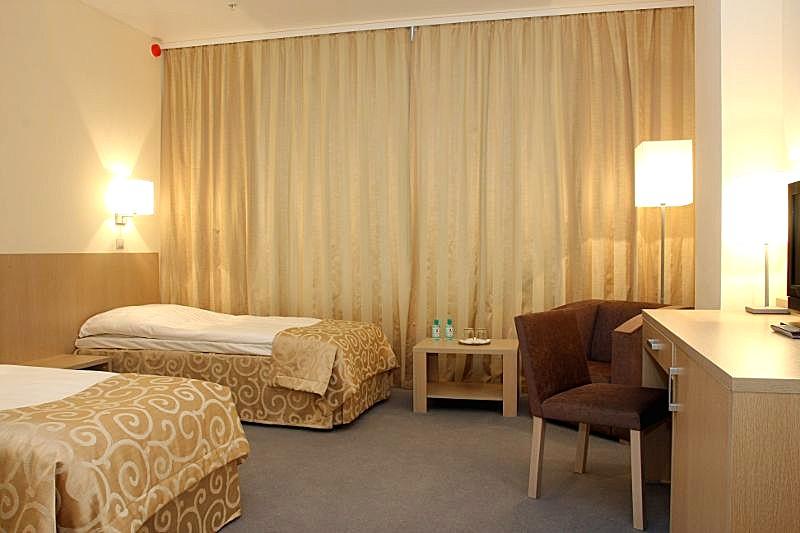 Standard Rooms At The Aquarium Hotel Next To Crocus Expo