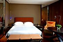 Designer 5 star accommodation at the ararat park hyatt How many m2 is my room