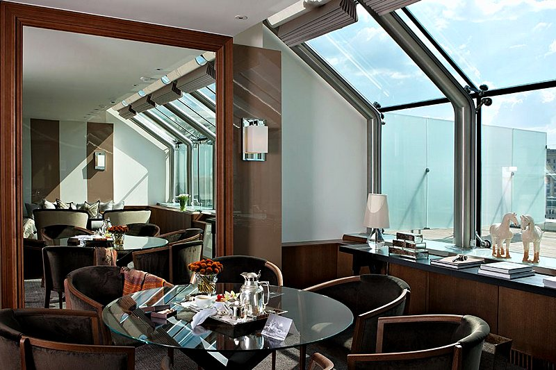 Hotels In Winter Garden Part - 19: Winter Garden Suite At Ararat Park Hyatt Hotel In Moscow, Russia