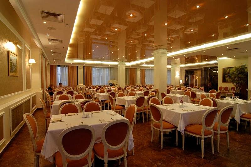 Kutuzov Restaurant At Borodino Hotel In Moscow Russia