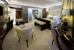 Presidential Suite at Crowne Plaza Moscow World Trade Centre Hotel in Moscow, Russia