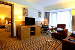 Suite at Crowne Plaza Moscow World Trade Centre Hotel in Moscow, Russia