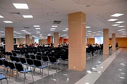 Seliger Hall at Crowne Plaza Moscow World Trade Centre Hotel in Moscow, Russia