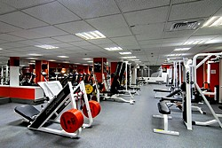 Atlantis Fitness Club at Crowne Plaza Moscow World Trade Centre Hotel in Moscow, Russia