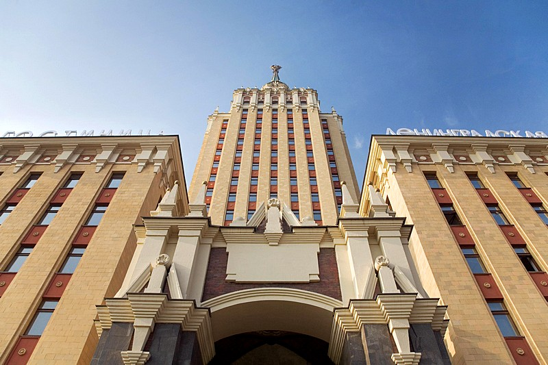 Hilton Moscow Leningradskaya in Moscow, Russia