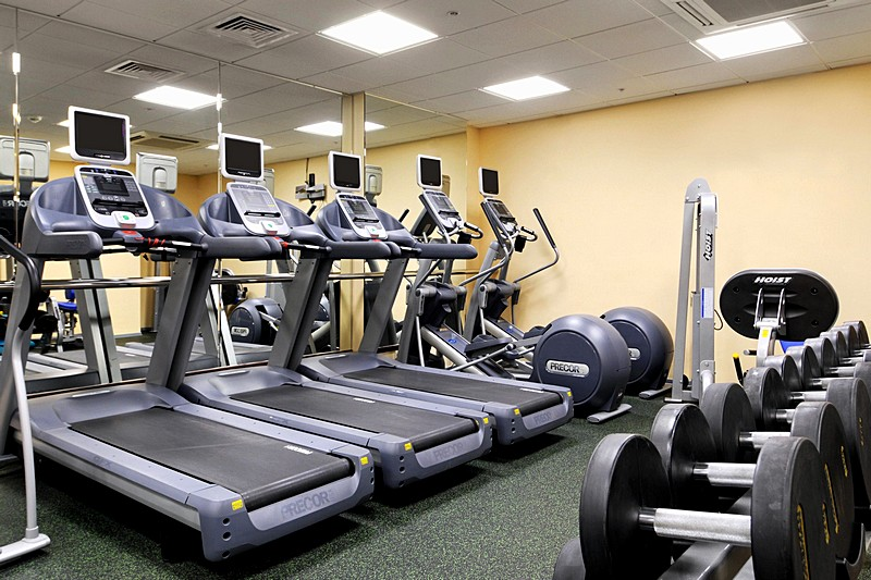 Luxury sport and leisure facilities at the hilton moscow