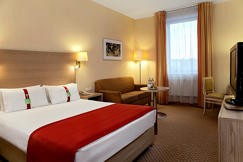 Double Room Non Smoking At Holiday Inn Lesnaya Hotel In Moscow Russia