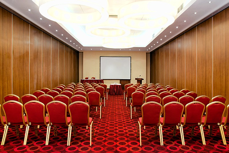 Grand Ball Room At Holiday Inn Moscow Lesnaya Hotel  Russia