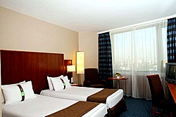 Standard Twin Room at the Holiday Inn Moscow Sokolniki in Moscow, Russia