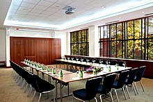 Vorobiovy Gory Conference Hall at Holiday Inn Moscow Sokolniki Hotel in Moscow, Russia