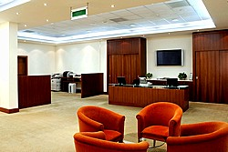 Business Centre at Holiday Inn Moscow Sokolniki Hotel in Moscow, Russia