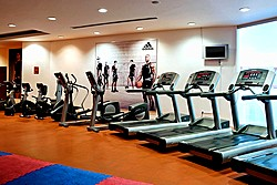 Orange Fitness at Holiday Inn Moscow Sokolniki Hotel in Moscow, Russia
