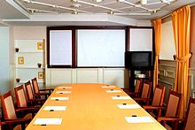 Lindgren Meeting Room at Katerina City Hotel in Moscow, Russia