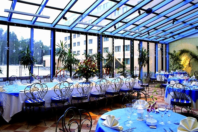 Winter Garden Restaurant At Moscow Country Club In Moscow Russia