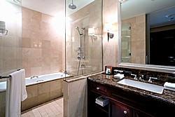 Superior Room Bath at Lotte Hotel in Moscow, Russia