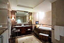 Charlotte Suite Bathroom at Lotte Hotel in Moscow, Russia