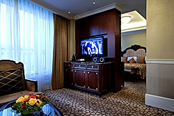 Executive Suite Living Room at Lotte Hotel in Moscow, Russia