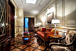 Royal Suite Cabinet at Lotte Hotel in Moscow, Russia