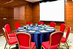 Topaz Meeting room at Lotte Hotel in Moscow, Russia