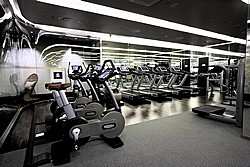 Fitness Club at Lotte Hotel in Moscow, Russia