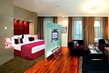 Junior Suite Deluxe at the Mamaison Pokrovka All-Suites Hotel in Moscow