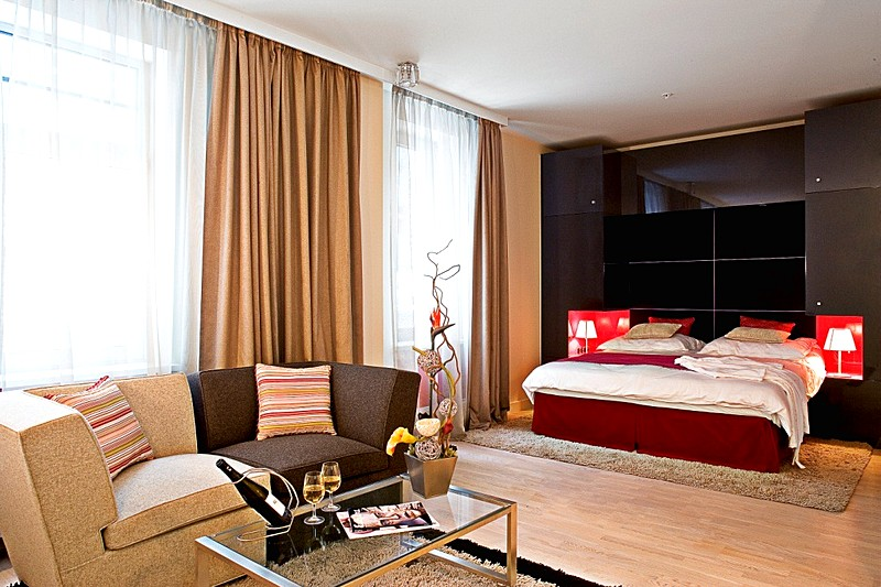 Junior Suite at the Mamaison Pokrovka All-Suites Hotel in Moscow
