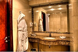 Bath Room in Studio Room at Mandarin Hotel in Moscow, Russia
