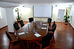 Meeting Room at Mandarin Hotel in Moscow, Russia
