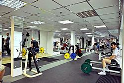 Gym Fitness Studio at Mandarin Hotel in Moscow, Russia
