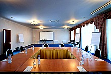 Conference Hall at Marco Polo Presnja Hotel in Moscow, Russia