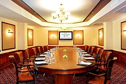 Boardroom at Marriott Courtyard Moscow City Center Hotel in Moscow, Russia