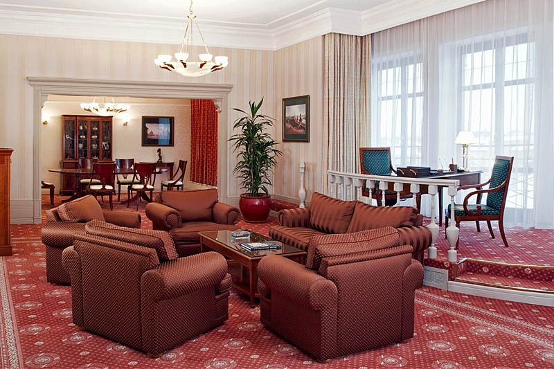 Presidential Suite At Moscow S Five Star Marriott Grand Hotel