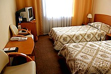 Superior Twin Room at Maxima Irbis Hotel in Moscow, Russia