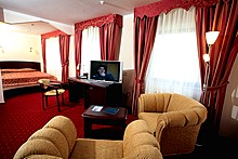Junior Suite at The Maxima Slavia Hotel, Moscow