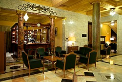 Shalyapin Bar at Metropol Hotel in Moscow, Russia