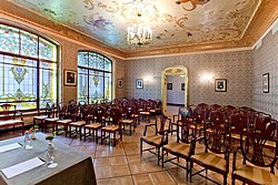 Chekhov Hall at Metropol Hotel in Moscow, Russia