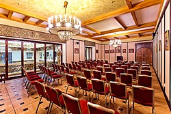 Savva Morozov Hall at Metropol Hotel in Moscow, Russia