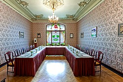 Tolstoy Hall at Metropol Hotel in Moscow, Russia