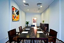 Ischia Meeting Room at Milan Hotel in Moscow, Russia