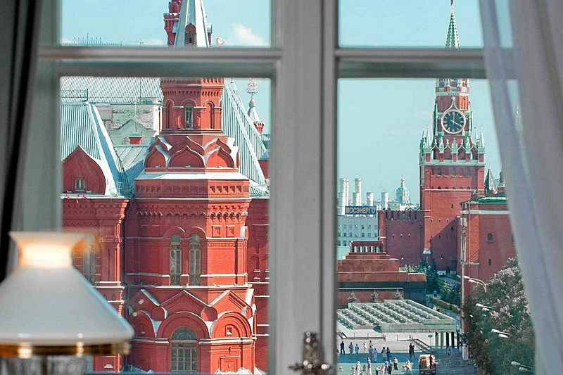Studio Rooms With Kremlin View At Moscow S National Hotel