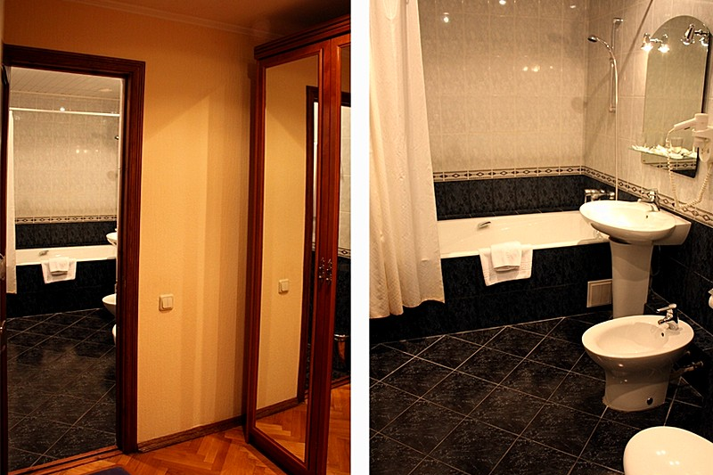 spacious mansard rooms at the moscow ozerkovskaya hotel