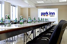 Conference Room at Park Inn Sheremetyevo Airport Hotel in Moscow, Russia