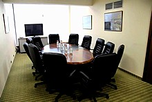 Negotiations Room at President Hotel, Moscow