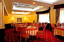 Sozvezdiye Restaurant at Proton Business Hotel in Moscow, Russia