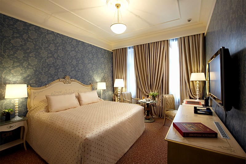 The Radisson Royal Hotel S Luxurious Executive Rooms In Moscow