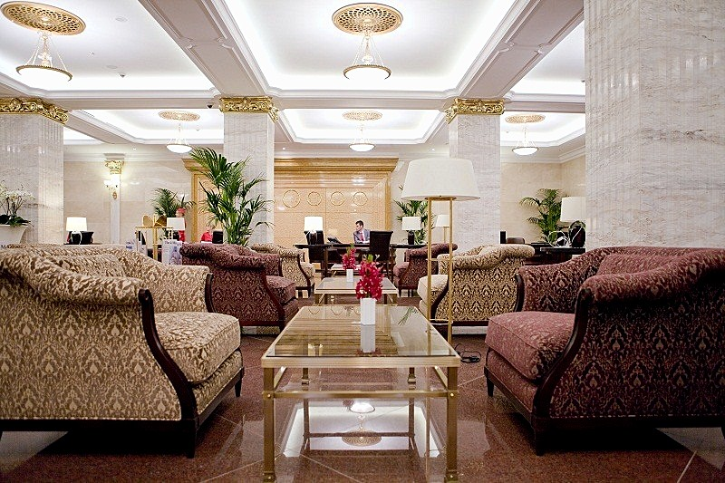 Hotel Foyer Images : Photos of the radisson royal hotel in moscow russia