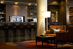 Allegro Lobby Bar & Lounge at Renaissance Moscow Monarch Centre Hotel in Moscow, Russia